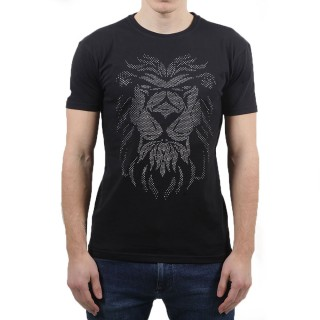 T-Shirt LION STRASS